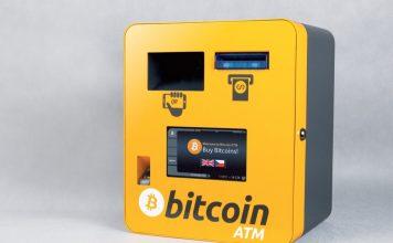 банкомат с биткоинами